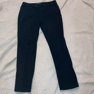 Ralph Lauren Black Adelle Straight Pants
